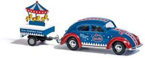 BUSCH 42737 VW Käfer mit Brezelfenster, Merz & Pilini