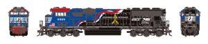 Athearn H0-SD60E-Diesel-Lokomotive