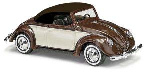 BUSCH - VW Hebmüller Cabrio zweifarbig, Braun 46718
