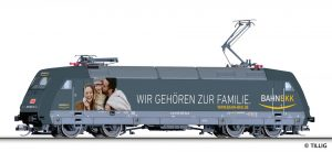 "TILLIG - Elektrolokomotive 101 023-0 ""Bahn BKK"" der DB AG"