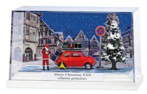 BUSCH - Kleindiorama: Merry ChristmasXXII »Dumm gelaufen« 7653