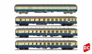 H43025 - UVP n. F. Hobbytrain / LS Models Schnellzug D308 Ostsee-Express München-Berlin Ep. IV