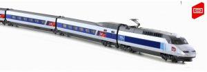 K10925  Kato 10-tlg.TGV Reseau SNCF, Ep. VI