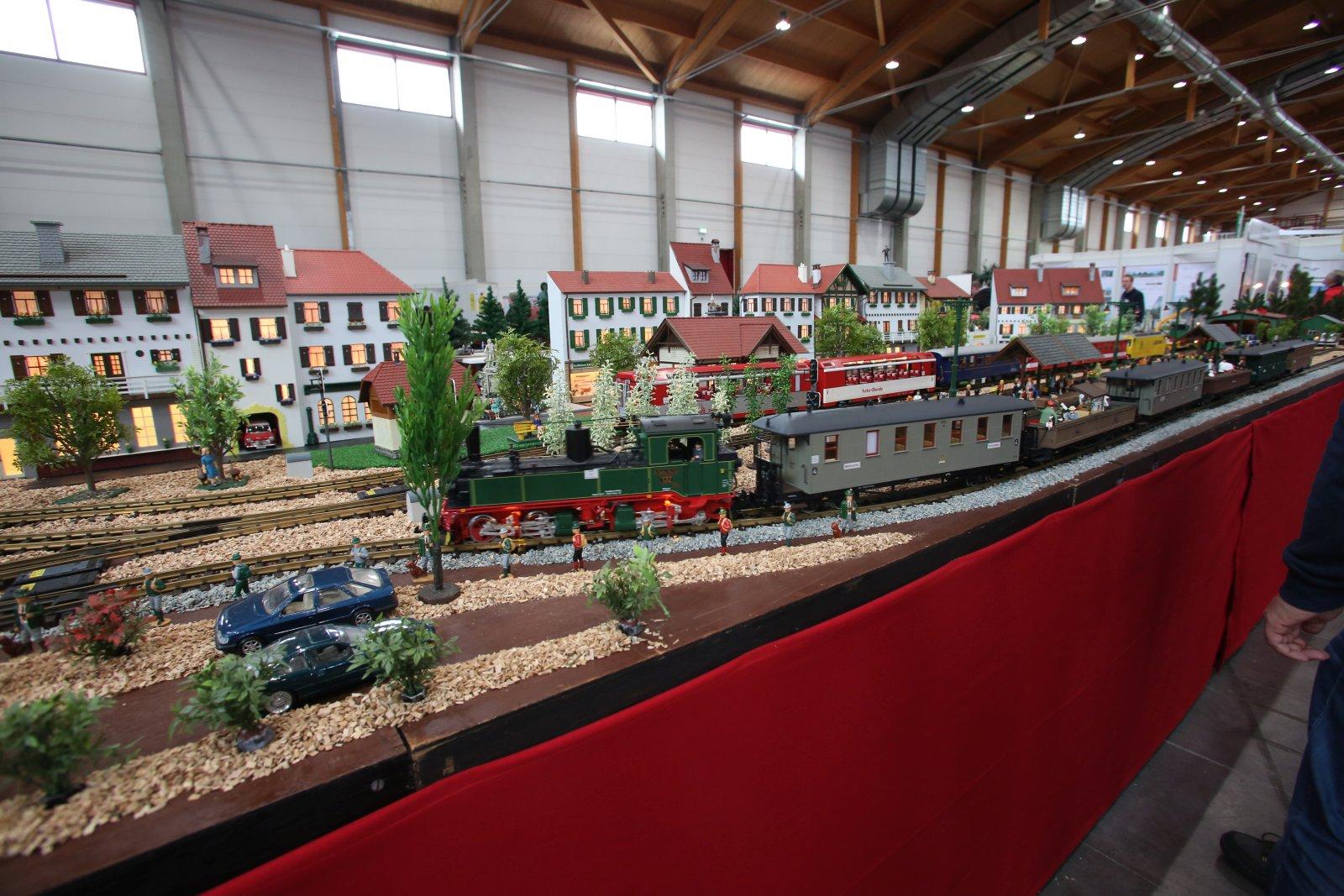 die modellbahn-anlagen zur faszination modellbau friedrichshafen