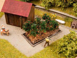 Endlich Erntezeit! NOCH hat weitere Neuheiten für die Gestaltung von Modell-Landschaften ausgeliefert.