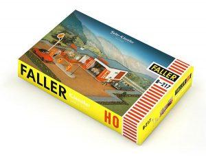 FALLER – Kleine Tankstelle in H0, Ersterscheinung 1958 jetzt erhältlich
