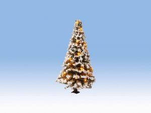 Beleuchteter Weihnachtsbaum NOCH