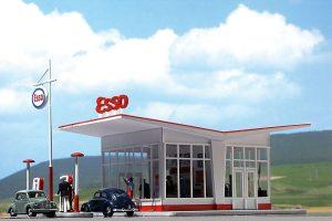 BUSCH - Tankstelle 1005 für Spur H0