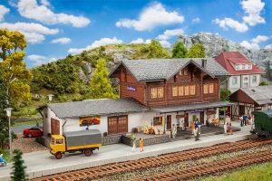 FALLER - Bahnhof St. Nikolaus 191730 für Spur H0
