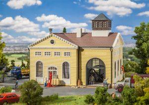 FALLER - Maschinenhaus mit Dampfmaschine 191734 für Spur H0