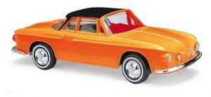 BUSCH - Karmann Ghia 1600 zweifarbig, Orange 45807 für Spur H0