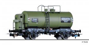 """Art.-Nr.: 76742 Kesselwagen R """"Kolinska rafinerie mineralnich oleju"""", eingestellt bei der CSD, Ep. III"""