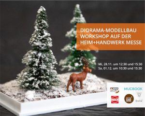 Diorama-Modellbau Workshop auf der Heim+Handwerk Messe in München am 1. Dezember