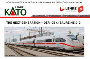 KATO/LEMKE – The next Generation – Der ICE 4 (Baureihe 412)