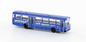"""MINIS - MB O 307 Überlandbus DB """"Wertkauf"""" LC4022 für Spur N"""
