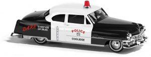 BUSCH - Cadillac '52 Limousine, Police 43401