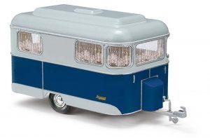 BUSCH - Nagetusch Wohnwagen, Blau 51702
