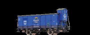 """BRAWA - 67463 - Gedeckter Güterwagen G """"Schwarzer Friese"""" der DRG (MKO Museumswagen)"""
