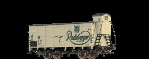 """BRAWA - 67481 - Bierwagen G10 """"Radeberger"""" der DR"""