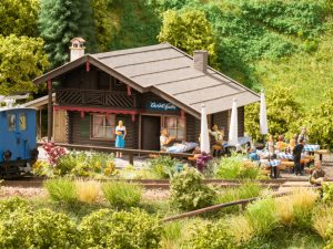 NOCH Christl-Hütte mit micro-motion Bedienung