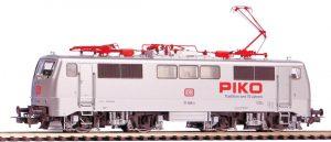PIKO - #51850 E-Lok BR111 DB silbern 70 Jahre PIKO