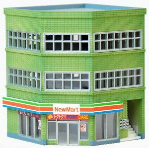 TOMYTEC - 973781 Eck-Geschäftshaus