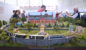 Beeindruckende Modellbahnanlagen auf der Intermodellbau in Dortmund