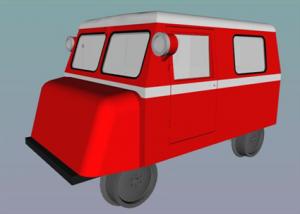 MO-Miniatur - KLV 12 Draisine.