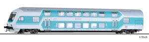 TILLIG H0 - 73776 | Doppelstock-Steuerwagen DB AG