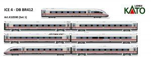 Kato K10950 – Baureihe 412 der DB AG, 7-tlg. für die Epoche VI