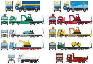 FALLER/TOMYTEC - 971004 301004 N Truck-Collection, LKW`s