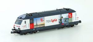 LEMKE-KATO E-Lok SBB Re4/4 460 TGV Lyria, Ep. IV-V