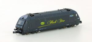 KATO/LEMKE - E-Lok BLS Re465 Flash Fire Ep.IV-V