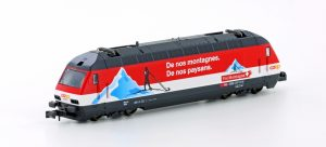 KATO/LEMKE - E-Lok SBB Re4/4 460 COOP Pro Montagna Ep.IV-V