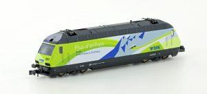 KATO/LEMKE - E-Lok BLS Re465 10 Jahre Lötschberg Basistunnel Ep.VI