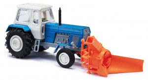 BUSCH - TT - 8697 Traktor Fortschritt ZT 300 mit Schneefräse ASS 02