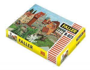 Legendäre FALLER-Modelle – Neu aufgelegt – B-923 Stadtmauer