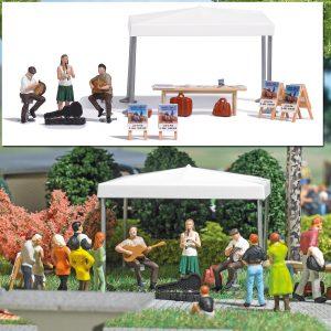 BUSCH - Action-Set: Straßenmusikanten 7846