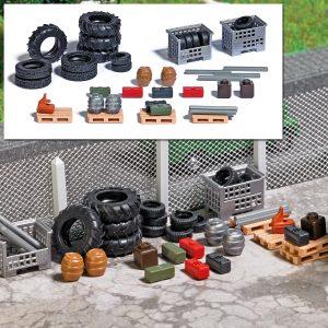BUSCH - Gitterboxen mit Füllgut 8832