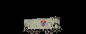"""BRAWA - 49765 Gedeckter Güterwagen G10 """"Wick"""" der DB Ep. III"""