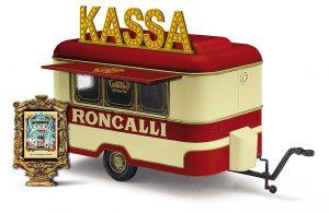 BUSCH - 51752 Nagetusch Verkaufsanhänger »Roncalli«