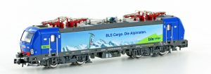 Hobbytrain/Lemke - Art.-Nr. H2998/S – E-Lok BR 193 der HUPAC / BLS