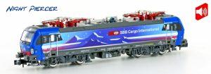 Hobbytrain/Lemke - Art.-Nr. H2999/S – E-Lok BR 193 der HUPAC / SBB