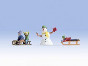 NOCH Kinder im Schnee