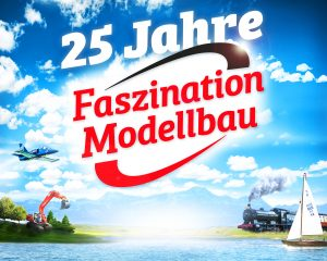 We are family! Countdown zur 25. FASZINATION MODELLBAU vom 01.-03.11.2019, in Friedrichshafen