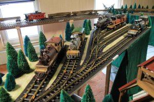 Spur 2: Ausgefallene Waldbahnen der Spurweite 2