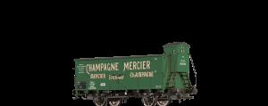 """BRAWA - Gedeckter Güterwagen """"Champagne Mercier"""" der Elsass Lothringen"""