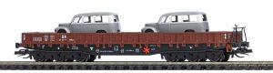 BUSCH - TT Flachwagen Samm 4818 DR mit Framo 31173