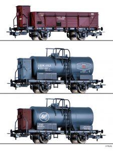 TILLIG - 70047 | Güterwagenset BDZ, JDZ und CSD