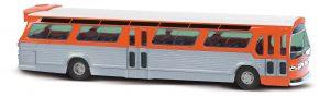 BUSCH US Bus »Fishbowl«,Orange + Schilder 44512